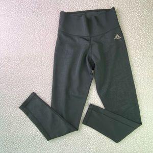 adidas yoga pants with imprint, climalite